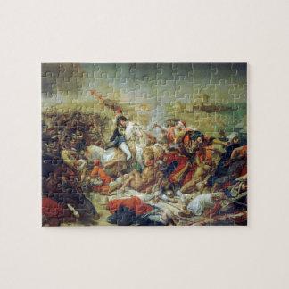 Slag van Abukir 25 Juli 1799 door Antoine-Jean Puzzel