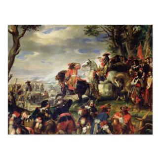 Slag van Marseille, 4 Oktober 1693, 1837 Briefkaart