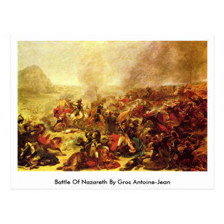 Slag van Nazareth door Gros Antoine-Jean Briefkaart