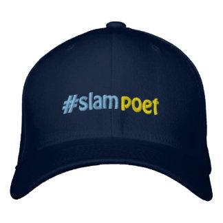 #slampoet #hashtag de Dichter Hashtag van de Slag Geborduurde Pet