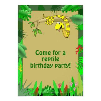 Slang in Uitnodigingen van de Verjaardag van de Do