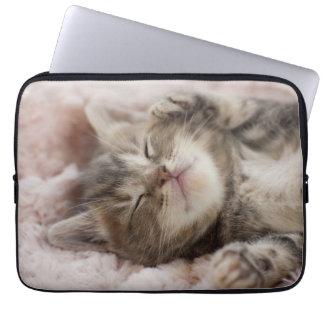 Slaperig Katje Laptop Sleeve