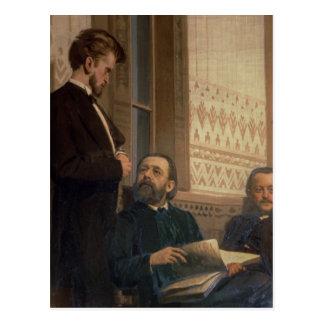 Slavische Componisten Briefkaart