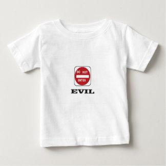 slecht kwaad dne baby t shirts