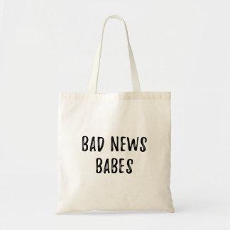 Slecht Nieuws Babes Draagtas