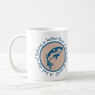 Slechte Dag van Visserij dan beter Goede Dag op Koffiemok