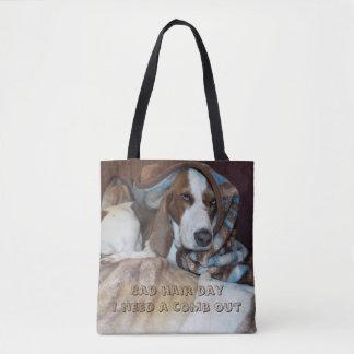 Slechte de hond van de haardag het verzorgen zak draagtas