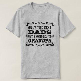Slechts die wordt Beste Dads aan Opa wordt T Shirt