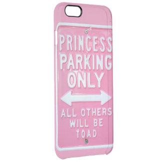 Slechts het parkeren van de prinses