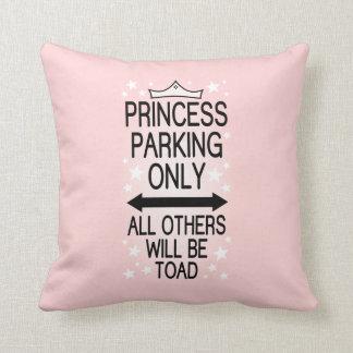 Slechts het Parkeren van de prinses Sierkussen