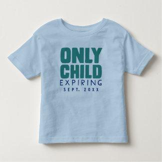 SLECHTS het Verlopen van het KIND [UW DATUM HIER] Kinder Shirts