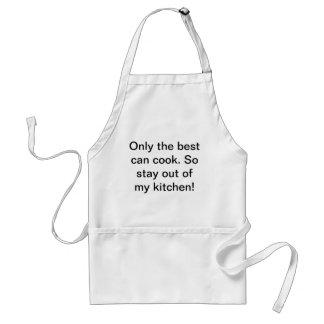 Slechts kan het beste koken standaard schort