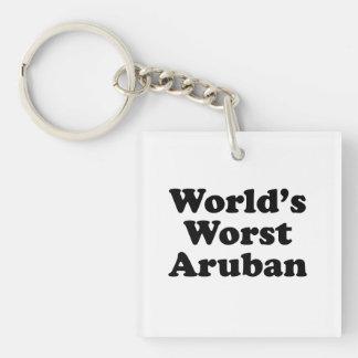 Slechtste Aruban van de wereld Sleutelhanger