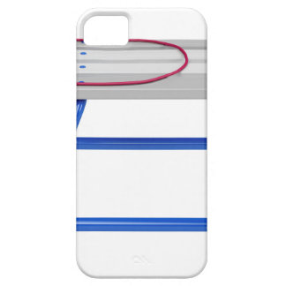Slee op wit barely there iPhone 5 hoesje