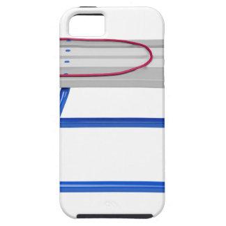 Slee op wit tough iPhone 5 hoesje