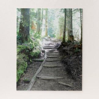 Sleep in het Bos van het Regenachtigere Raadsel Puzzel