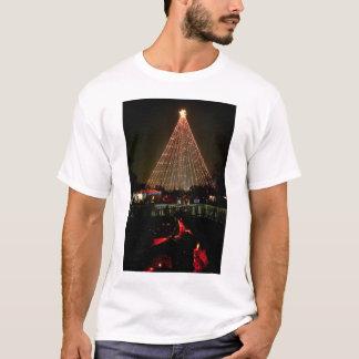 Sleep van het Logboek van TreeYule van Kerstmis T Shirt