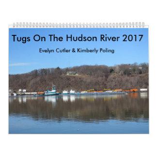 Sleepboten op de Hudson Rivier 2017 Kalender