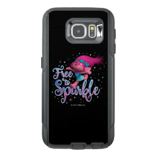 Sleeplijnen   Papaver Vrij te fonkelen OtterBox Samsung Galaxy S6 Hoesje