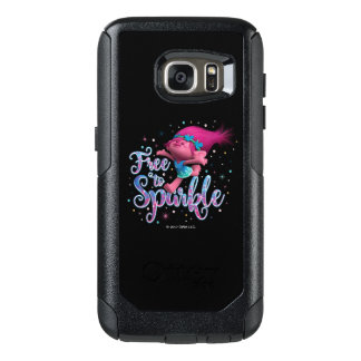 Sleeplijnen   Papaver Vrij te fonkelen OtterBox Samsung Galaxy S7 Hoesje