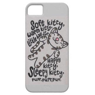 SleepyKittySongCase Barely There iPhone 5 Hoesje