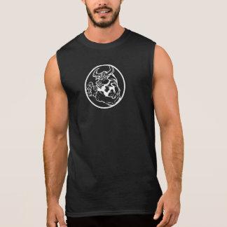 Sleeveless het Man van HornFitness van het team T Shirt