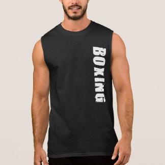 Sleeveless In dozen doende T-shirt