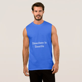 Sleeveless in Seattle - Mannen T-shirt