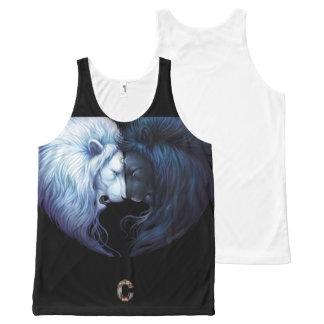 SleeveLess Overhemd van het Circus voor Men&Women All-Over-Print Tank Top