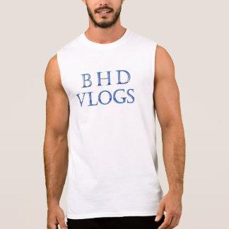Sleeveless t-shirt van BHD Vlogs