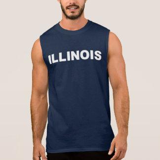 Sleeveless T-shirt van Illinois