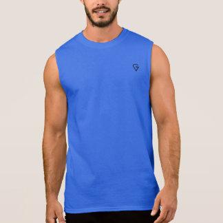 Sleeveless Zwarte Ontwerp van het mannen GOATEST T Shirt