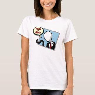 Slenderman op uw t-shirts venster-Womens/sweaters