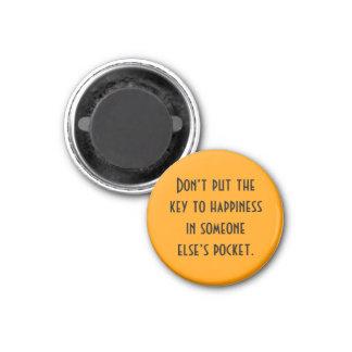 sleutel tot geluk magneet
