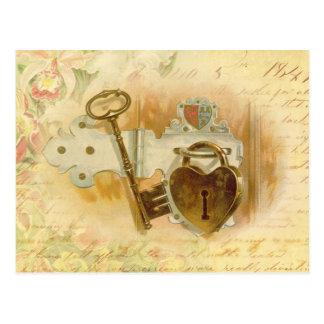 Sleutel tot Mijn Hart Briefkaart