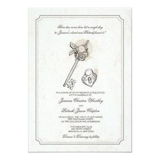 Sleutel tot Mijn Uitnodigingen van het Huwelijk