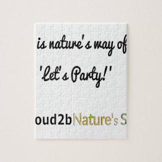 Slogan 1 van de Militairen van de natuur Puzzel