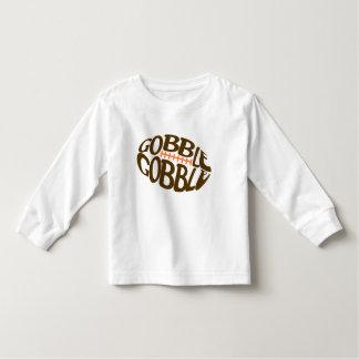 Slok opslokken het Overhemd van de Thanksgiving Kinder Shirts