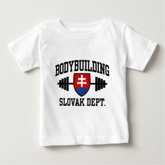 Slowaakse Bodybuilder Baby T Shirts