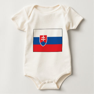 Slowaakse Vlag Baby Shirt