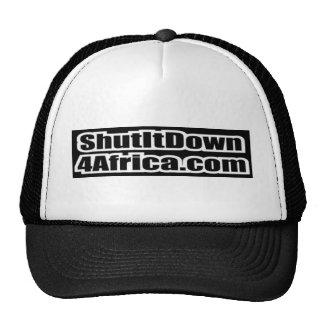 Sluit het onderaan 4 Afrika Pet