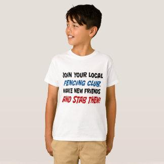 Sluit me aan bij uw lokale schermende club! sT van T Shirt