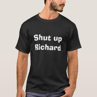 Sluit Richard T Shirt
