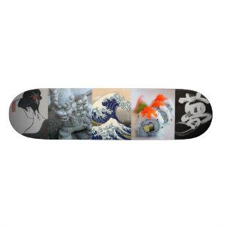 Smaak van het Skateboard van Japan