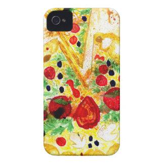Smakelijke Pizza iPhone 4 Hoesje