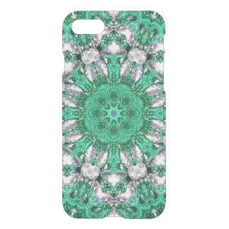 smaragdgroen boho elegant Boheems patroon iPhone 8/7 Hoesje