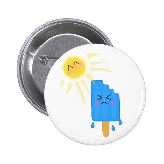 smeltend roomijs ronde button 5,7 cm