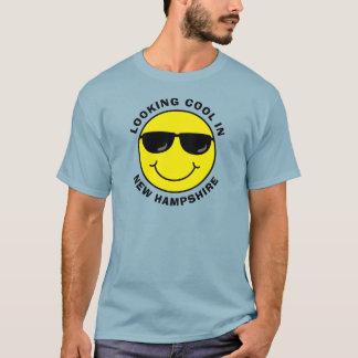 Smiley die Koel in Uw Staat kijkt T Shirt