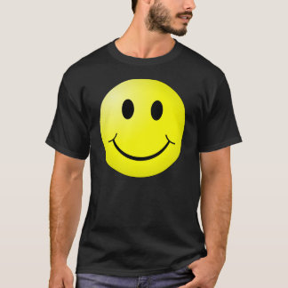 smiley gezicht t shirt