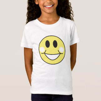 smiley-gezicht t shirt